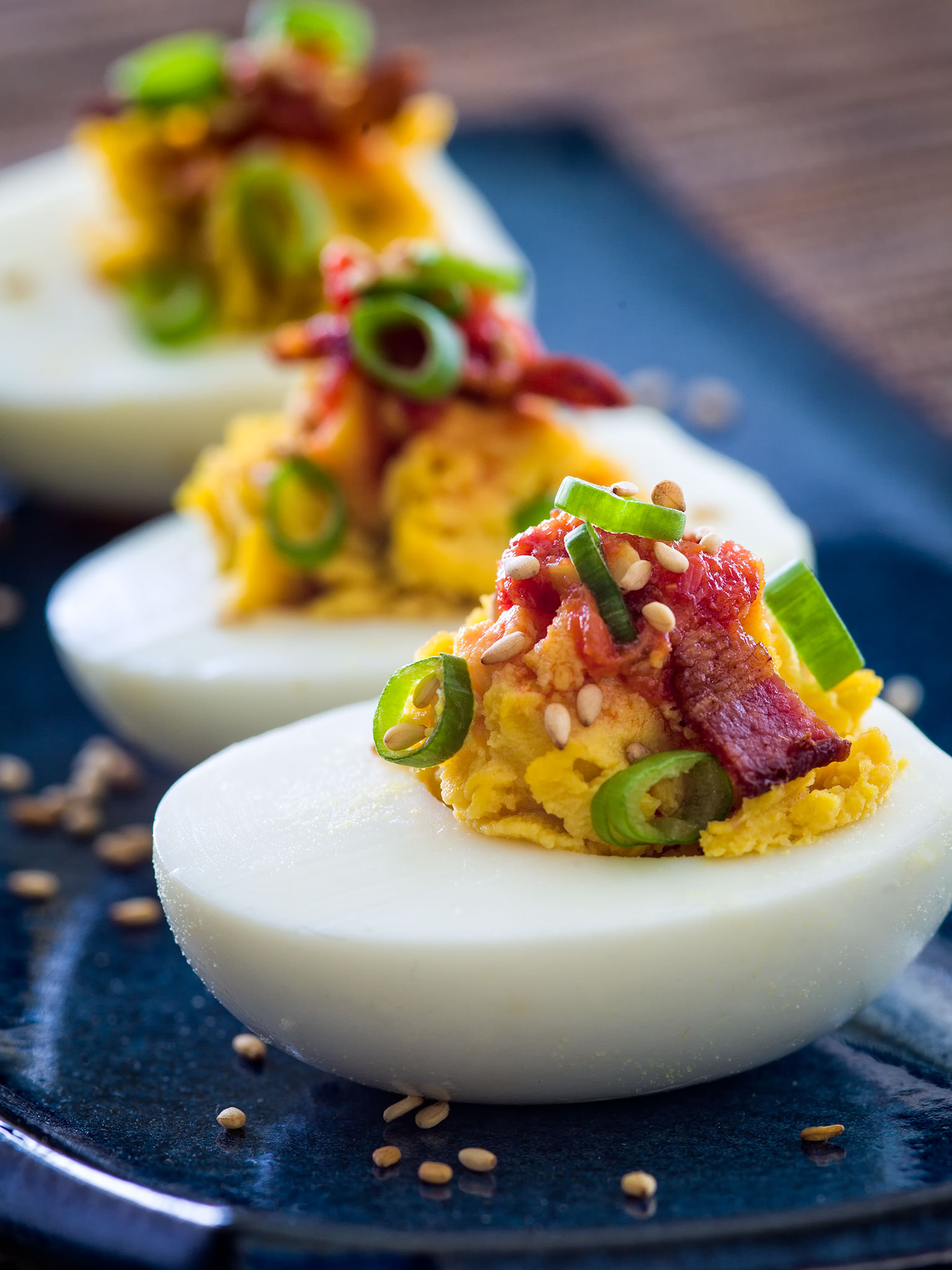 ... start an exploration into ethnic varieties of deviled eggs for me